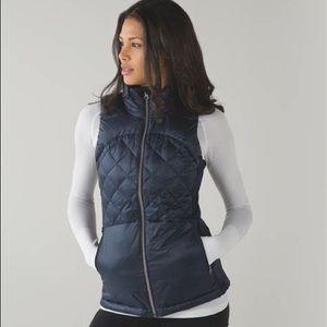 Lululemon Goose Down Puffer Vest Black Size 6